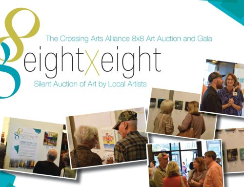 Artists Sought for Crossing Arts Alliance 8×8 Fundraiser